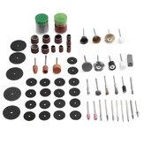 97unidspulidolijadopulidoabrasivo herramienta juego de accesorios para Dremel rotatorio herramienta