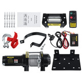 4500lbs DC 12V Electric Recover Winch Kit  Is Used For Beach Motorcycle Self-rescue And Rescue
