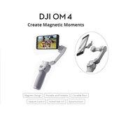 DJI OM 4 OSMO 4 3-Axis Sin escobillas Estabilizador Plegable Handheld Gimbal Magnético Diseño Control de gestos ActiveTrack 3.0 para Teléfonos móviles Smartphone Tiktok Vlog YouTuber Livestream