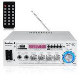 2000W Bluetooth 5.0 Audio Leistungsverstärker EQ Stereo AMP Car Home 2CH AUX USB FM SD