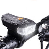 XANES 600LM XPG + 2 LED Bicycle German Standard Smart Sensor Warning Light Bike Front Light Headlight