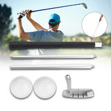 Bâton d'alignement de golf amovible Chipping Swing Trainer Sport Golf Pole avec balle de golf