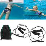 2 m pasy bezpieczeństwa do pływania dla dorosłych dzieci taśma wytrzymałościowa narzędzia do treningu wodnego sporty wodne na świeżym powietrzu