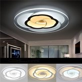 18W moderne ronde bloem acryl LED plafond licht warm wit / wit Lamp voor woonkamer AC220V