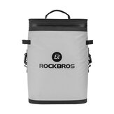 ROCKBROS BX-004 20L Backpack Cooler Leak-Proof Soft Sided Cooler Waterproof Ice Pack Lunch Bag Insulated Backpack Cooler Bag 36 Can Soft Cooler for Camping, Fishing, Party, Outdoor Adventure, Picnic