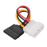 1x SATA 15-контактный разъем для подключения к гнезду Molex IDE 4-контактный