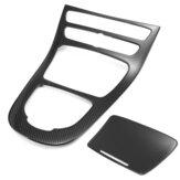 Copertura del pannello del cambio della console in fibra di carbonio per Mercedes Benz Classe E W213 16-17