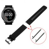 Havit 22mm Glossy Monochrome Silicone Strap Smart Watch Band For Xiaomi Haylou Solar Smart Watch