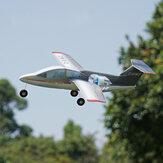 Mínimo RC Fanjet 360 mm Envergadura KT Espuma Mini KIT de avión RC con EDF / EDF + Servos