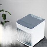 Bakeey USB Tischventilator Tragbare Luftkühler Klimaanlagenlüfter Kühlgerät Luftbefeuchter für Büro