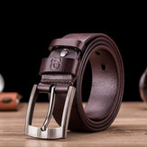 BULLCAPTAIN Genuine Leather Ointment Leather Business Casual Pin Buckle Belt Leather Belt For Men