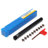 S16Q-SCLCR09 16x180mm Lathe Boring Bar Turning Tool Holder With 10pcs CCMT09T3 Inserts