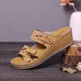 Damskie obuwie LOSTISY z ręcznie robionymi pustymi, wygodnymi sandałami