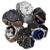 [chamada bluetooth] DT NO.1 DT70 1,39 polegadas 454 * 454px Tela dividida com botão giratório ECG Coração Monitor de taxa 100+ Dials IU dinâmica IP68 à prova d'água BT5.0 Smart Watch