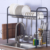 60/70/80/90cm 304 Stainless Steel Single Layer Rack Shelf Storage for Kitchen Dishes Arrangement