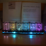 Geekcreit® Imituj Glow Clock Pełny kolor RGB Glow Tube Clock LED Music Spectrum Kit
