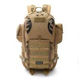 Hunting Men Multi-function Tactical Bag Detachable 56-75L Waterproof Oxford High Capacity Backpack