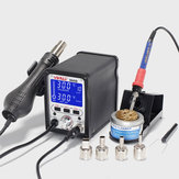 YIHUA 995D 2 In 1 Soldering Station Hot Air nozzle Soldering Iron Repair Desoldering Welding 110V/220V
