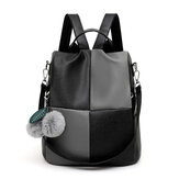 Women Anti Theft Leather School Backpack Rucksack Handbag Travel Shoulder Bag