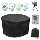 30inchPatioRoundPitCoverWaterdichte UV Protector Grill BBQ Stoel Table Shelter Zwart