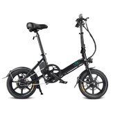 [EU Direct] FIIDO D3 7.8Ah 36V 250W 14 Inches Folding Moped Bicycle 25km/h Top Speed 50KM Mileage Range Mini Electric Bike