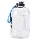 3.78L Large Capacity Sports Water Drinking Bottle With Cleaning Brush Gym Training Workout Cap Kettle