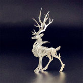 Staal Warcraft 3D Puzzel DIY Vergadering Elk Speelgoed DIY Rvs Model Building Decor 4.2 * 3.5 * 7.6 cm