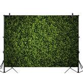 5x3ft 7x5ft 10x6.5ft Green Leaves Wand Hintergrund Fotografie Wanddekor Hintergrund für Foto Video Hochzeit Geburtstagsfeier