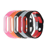 Bakeey™ Double Color Polka Dot Replacement Silicone Wrist Strap for XIAOMI Miband 2 Non-original