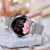 Bakeey MK20 Elegancki w pełni dotykowy ekran Dostosowane pokrętło Tętno Monitor ciśnienia krwi 15 trybów sportowych Inteligentny zegarek