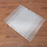 3pcs 12 pouces remplacement tapis de coupe grille adhésive transparente pour silhouette camée