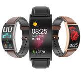 [Pantalla curva] SENBONO T20 Pulsera de pantalla táctil AMOLED flexible de 1.5 '' Corazón Tasa de presión arterial Monitor 15 Modos deportivos Pronóstico del tiempo Reloj inteligente