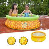 150x41cm nadmuchiwany basen z PVC dla dzieci bezpieczeństwo wanienka do kąpieli dla dzieci basen okrągły letnia impreza wodna