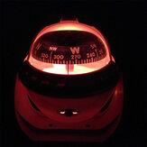 Светодиодная электронная цифровая навигация Лодка Высокоточная навигация Парусный спорт Морской морской компас На открытом воздухе Аксе
