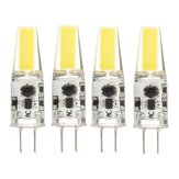 4PCS Mini G4 2W Pure White COB LED Bulb for Chandelier Light Replace Halogen Lamp DC/AC12V