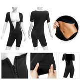 Femmes Shapewear Full Body Sweat Shaper Minceur Fitness Gym Sport Sauna Suit Gilet