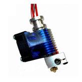 Geekcreit® 0.3mm Metal 3D Extrusora de la cabeza de extrusión Extrusora con ventilador