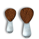 1pcs Coffee Scoops Spoon Stainless Steel 15/30ml Measuring Tablespoon Cafe Sugar Tea Spoon