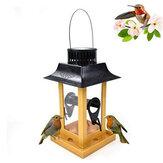 Vogelvoeder Water met LED-licht Hangende Tuin Tuin Buiten Vogeldrinker Gereedschap voor Tuin Tuin Outdoor Decoratie