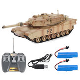 M1A2 1/24 2.4G RC Tank Car Vehicle Models W/ Two Battery