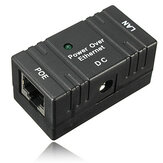 10M / 100Mbp Pasywny PoE Power Over Ethernet RJ-45 Wtryskiwacz Splitter Adapter do montażu ściennego do kamer CCTV IP Networking