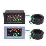 AC220V/500V 10-500A Three-phase Digital Display Voltmeter Ammeter LED Dual Display Meter