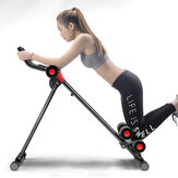 KALOAD Abdominal Muscle Trainer AB Roller Slider Belly Max Load 150kg Outdoor Indoor Gym Sport Fitness Equipment