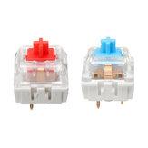 70/110 Pcs Mecânico Blue / Red Switches 3Pin LED SMD MX Switch para DIY Mecânico Teclados de jogos