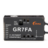 CORONA GR7FA 7CH S.BUS Receiver With Gyro Compatible Futabas FASST Transmitter
