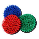 5PolliciPuliziadeltrapanoelettrico rosso / blu / verde Pennello Pulizia delle piastrelle dell'impianto di pulizia delle fughe per piastrelle Pennello