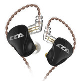 CCA CA16 3.5mm Wired Earphones 16 Drivers 7BA+1DD In Ear Earphone Hifi DJ Monitor Music Stereo Earbuds Headphone