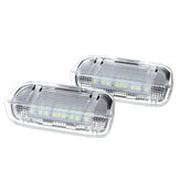 Car Door Warning Welcome Courtesy Light LED Lamp For VW Golf 5 6 7 Gti Mk5 Mk6 Mk7