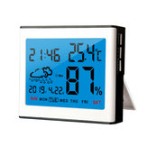 Digitale LCD Weer Temperatuur Vochtigheid Sensor Meter Indoor Outdoor Hygrometer