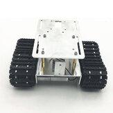 DIY RC Robot Chassis Tank Car Tracking Evitação de obstáculos com conjunto de rastreador